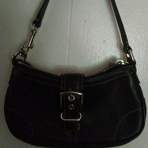 🔴 Vintage Coach mini bag leather